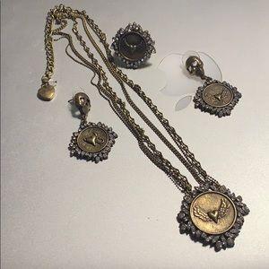 Betsey Johnson jewelry set